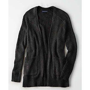 🍁BOGO 50%🍁 AE Slouchy Plaited Knit Cardigan